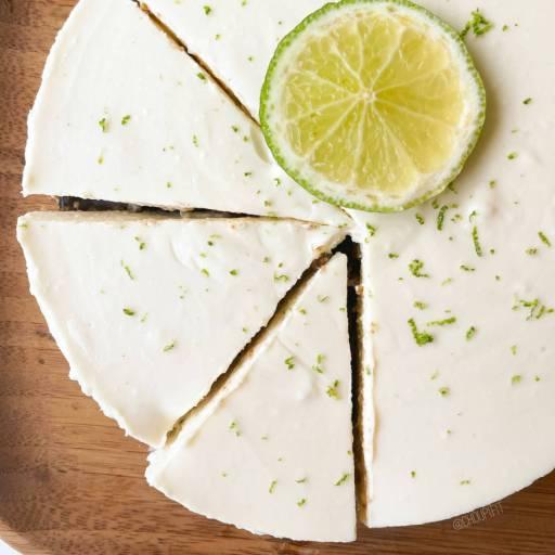 recette healthy et allégée de cheesecake au citron sans mascarpone, sans oeufs et sans four