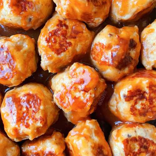 Boulettes de poulet sauce aigre-douce