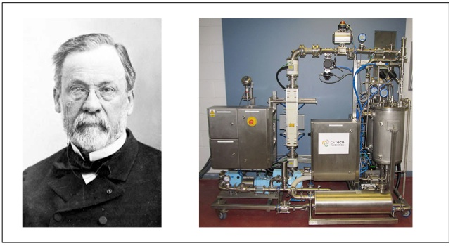 Louis Pasteur dan Unit Pasterusasi Buah Modern