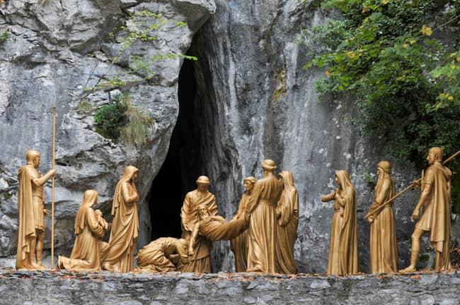 Lourdes, chemin de Croix