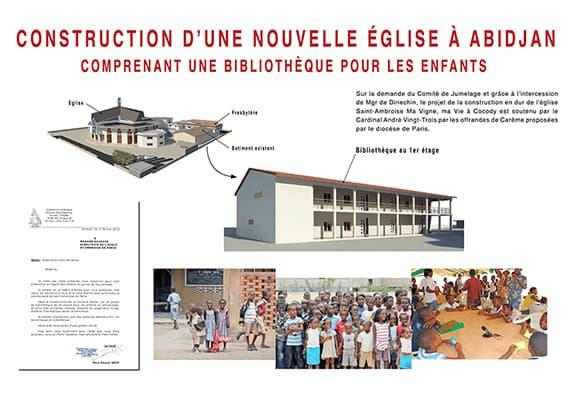 panneau abidjan école projet 2015