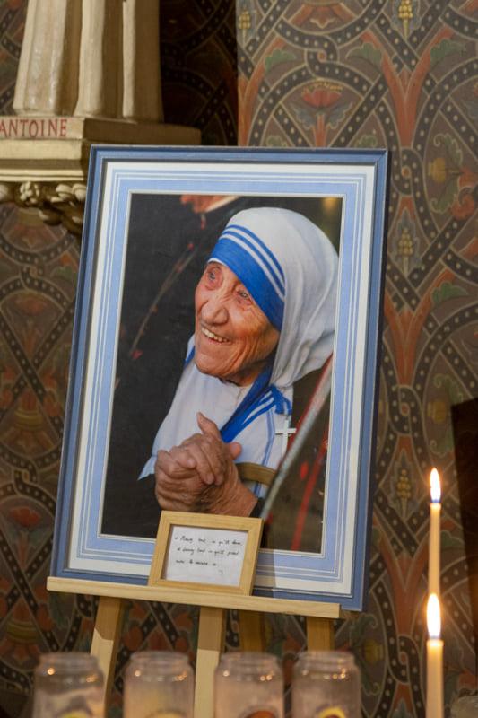 Mère Teresa Portrait