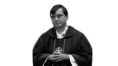 Portrait de l'abbé Armel d'HARCOURT, vicaire à Saint-Ambroise