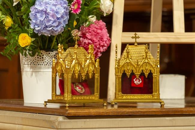 Sainte Térésa reliques