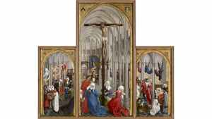 Les sept Sacrements, tableau