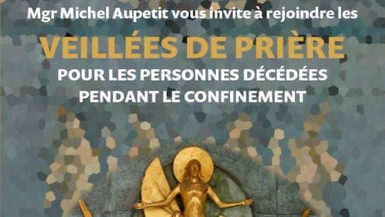 veillée de prière pendant le confinement 2020, Diocèse de Paris