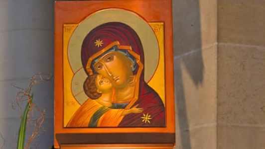 Vierge Marie et l'enfant Jésus de Saint-Ambroise