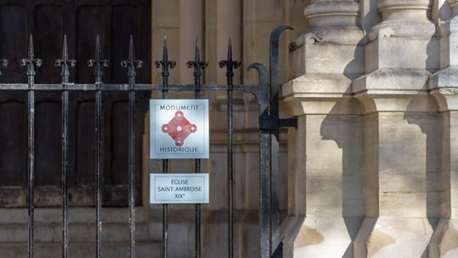 Les heures d'ouverture de l'église Saint-Ambroise
