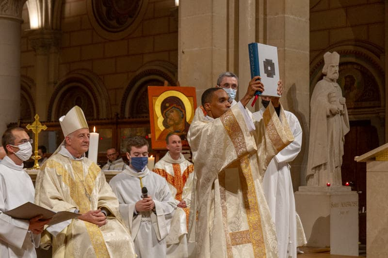 Ordination à Saint Ambroise avec Mgr Marsset - 4 octobre 2020