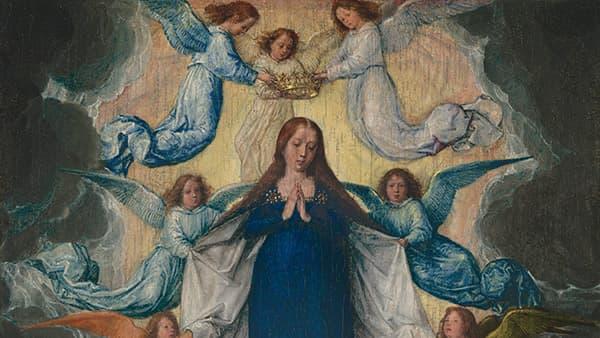 L'Assomption de Marie, peinture