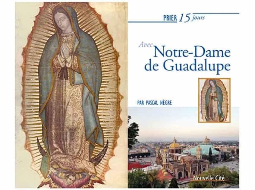 Couverture du livre de Pascal Nègre sur Notre-Dame de Guadalupe