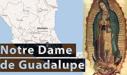 Annonce de Notre Dame de Guadalupe à Saint-Ambroise