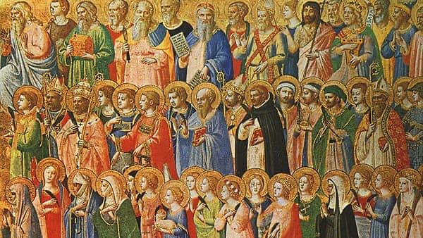 Tous les Saints, peinture