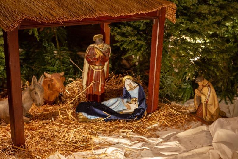 Messe de Noël à Saint-Ambroise en 2020