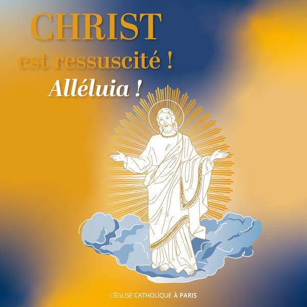 Pâques Christ ressuscité