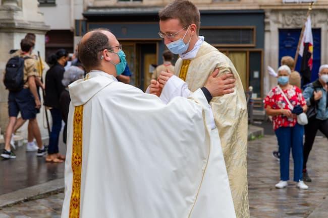 Jean-Charles PELLEN et père Baptiste MILANI