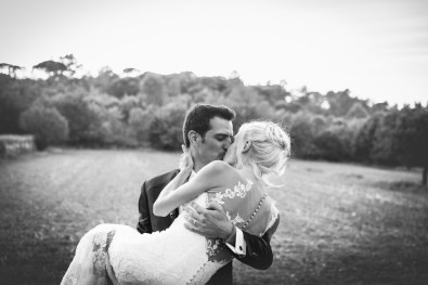 Mariage de Flora et Guillaume - Baiser - 2016.