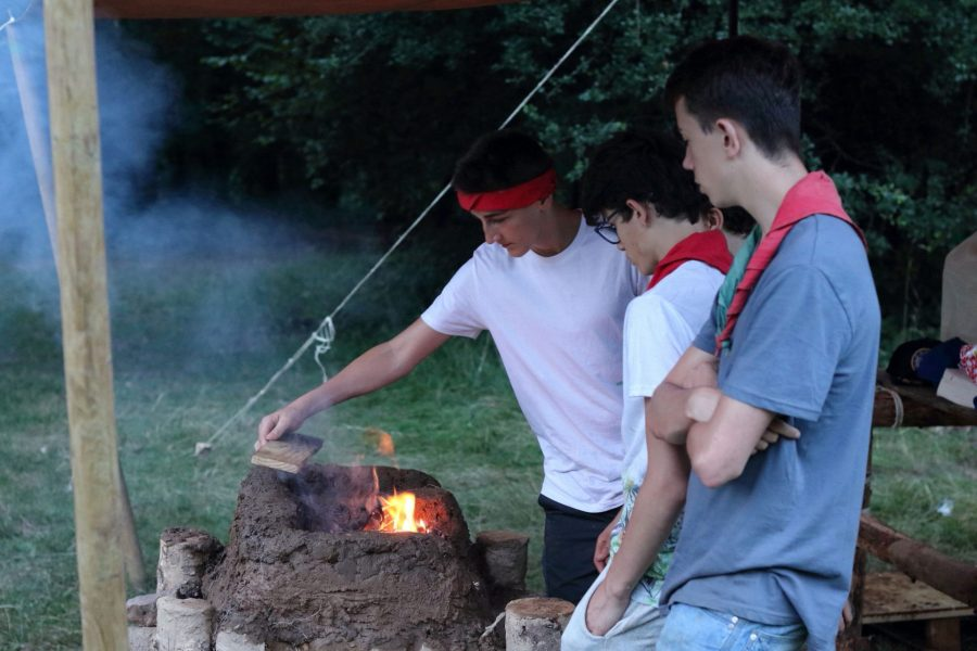 Camp Scout Eclaireurs Saint Charles Mons