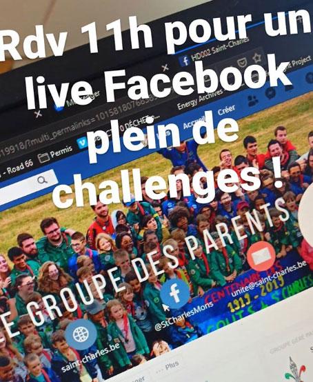 RDV 11h pour le live des éclaireurs photos depuis la story Instagram