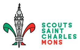 Logo de l'Unité Scoute Saint Charles Mons