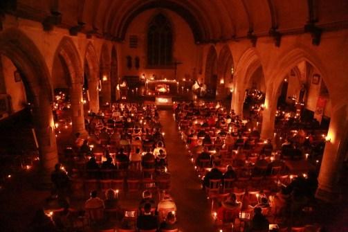Messe de l'aurore le 8 Décembre - Vue d'ensemble
