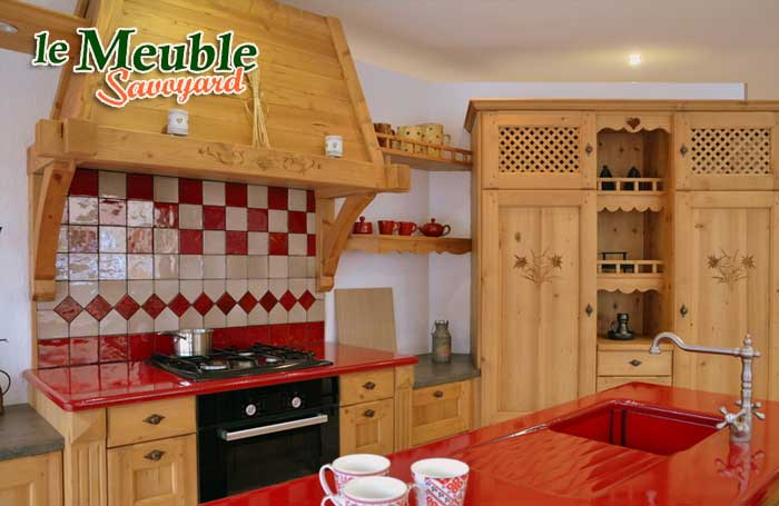Chambre a coucher style chalet decoration style chalet for Meubles xxl metz