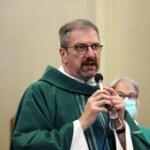 Accueil du Père Sylvain, nouveau Curé de la paroisse