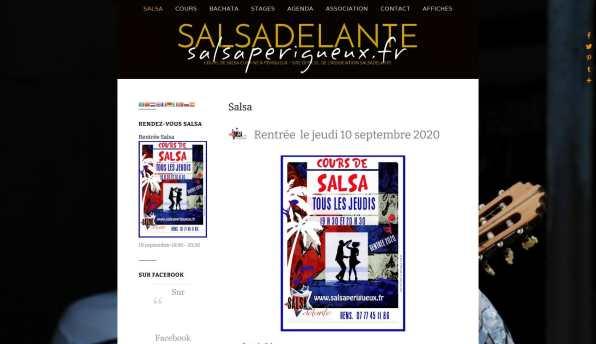 Salsadelante - La Salsa à Périgueux - salsaperigueux.fr