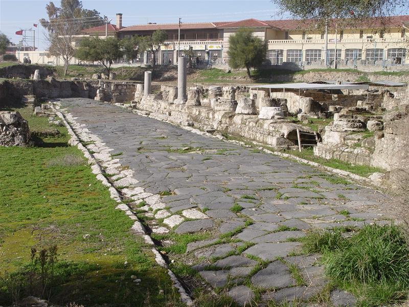 Rue de l'époque hellénistique
