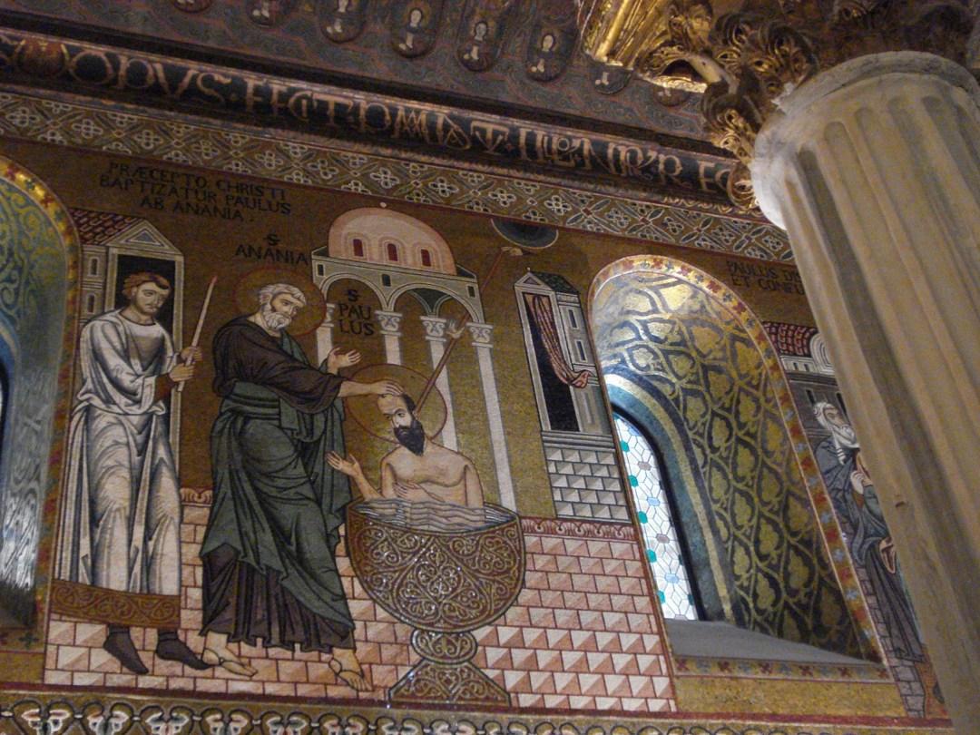 Mosaïque de la chapelle Palatine
