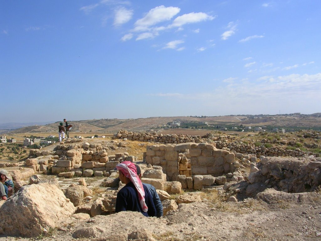 Les ruines d'Hechbon