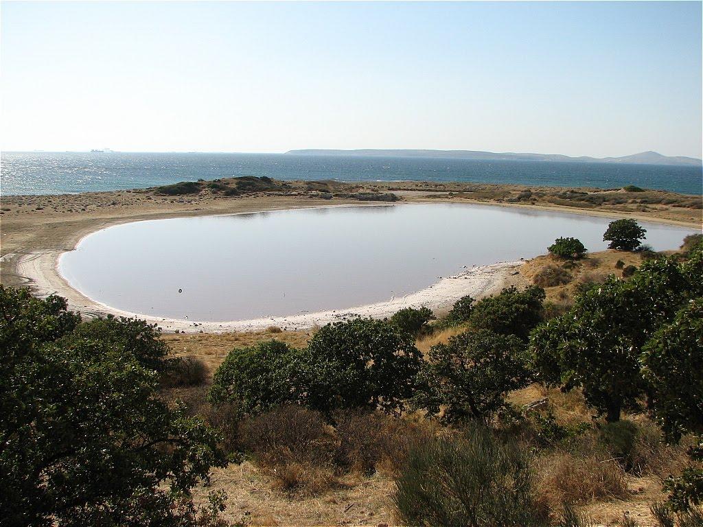 Bassin du port du Troas