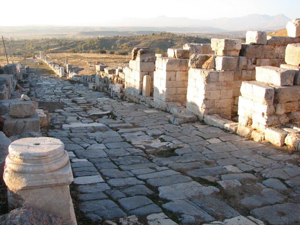 L'entrée de la ville d'Antioche de Pisidie
