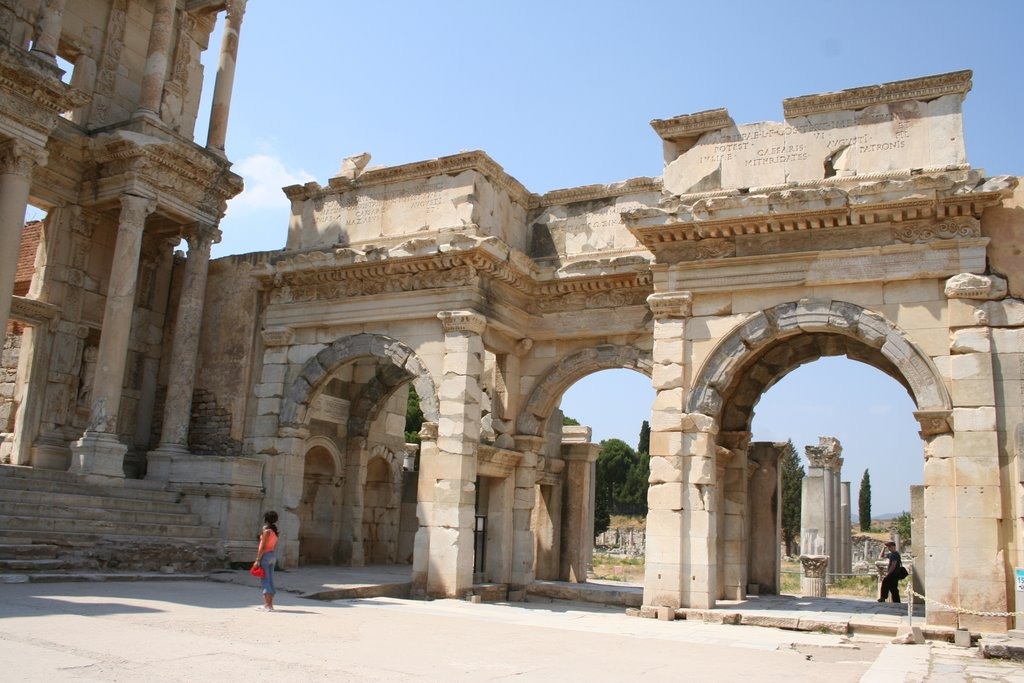 La porte de Mazeus et Mithridates
