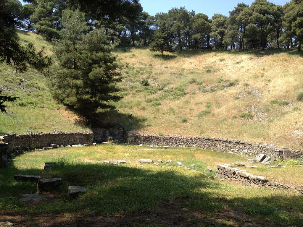 Reste du théâtre antique