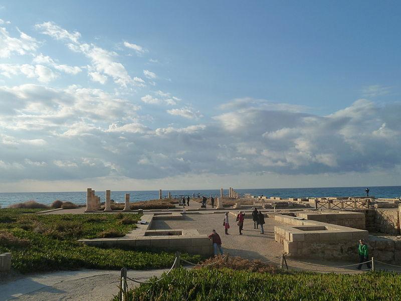Vues du palais d'Hérode