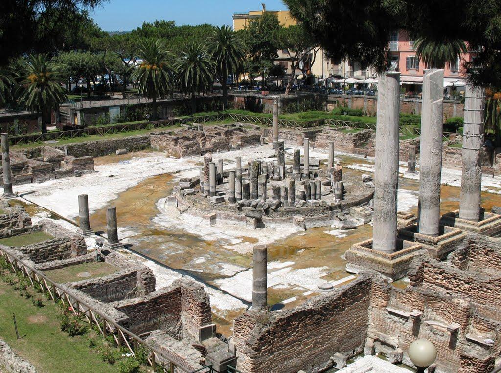 Le temple de Sérapis