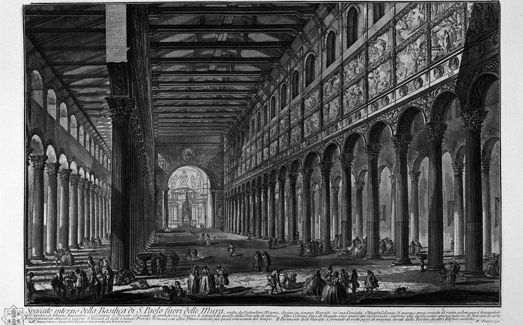 8.  La « basilique des trois empereurs », vers 175