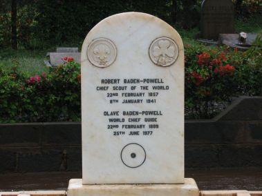 Túmulo de BP no Quénia