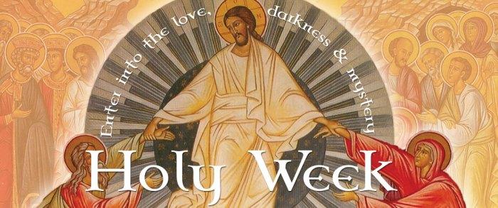 Holy Week Banner