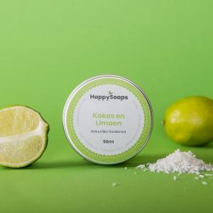 HapppySoaps deodorant kokos & limoen