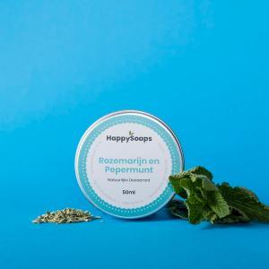 HappySoaps deodorant rozemarijn pepermunt