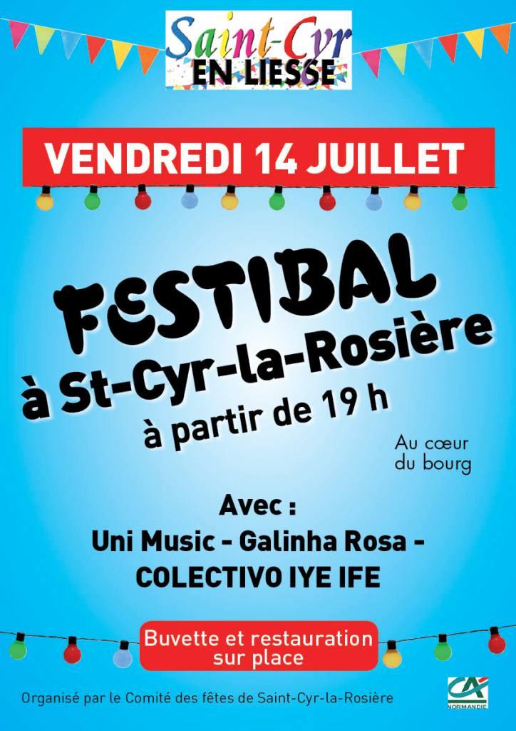 FestiBal du 14 juillet à Saint-Cyr