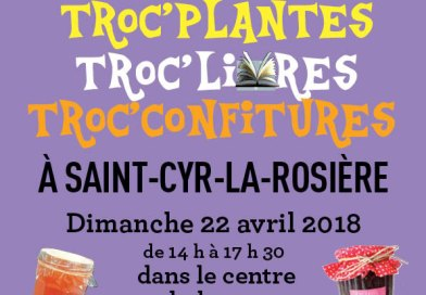 TROC PLANTES DIMANCHE 22 AVRIL