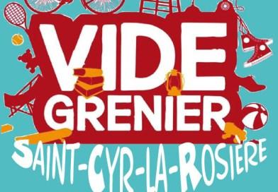 Vide-greniers dimanche 22 septembre