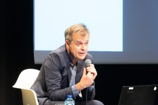 """La conférence """"Les zones à défendre, une radicalisation des luttes environnementales en France"""" avec Philippe Subra, directeur du scientifique du FIG, au musée Pierre-Noël vendredi après-midi."""