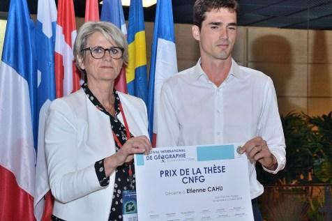 Etienne Cahu, lauréat du prix de la thèse CNFG 2018, samedi en fin de matinée.