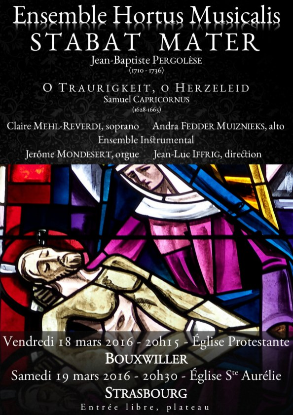 Stabat Mater - Pergonèse - Hortus Musicalis