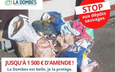 Stop aux dépôts sauvages