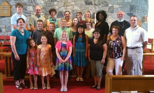 St. Edward's Christian Education class